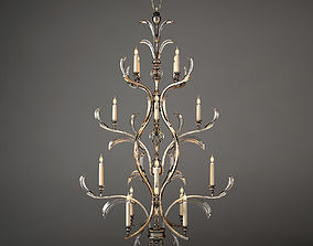 Chandelier Fine Art Lamps 704040 model 3D