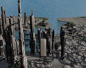 Quantum Mega City 3D model