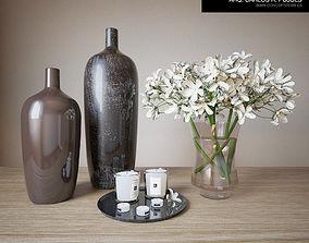3D vase Decoration Set