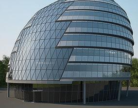 City Hall London 3D model