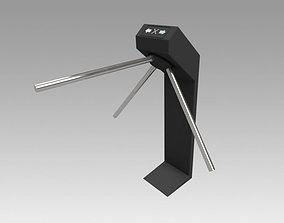 3D model Turnstile black