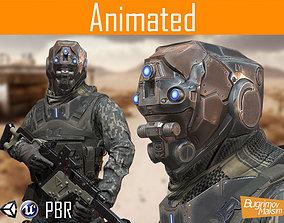 3D asset Character Soldier