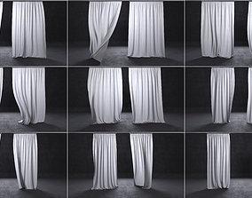 decoration 3D curtains