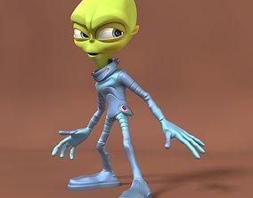 Cartoon Alien 3D