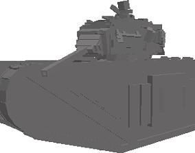 3D model DWT-HeavyTrenchwarsTank