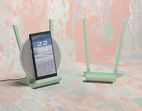 3D print model Wireless Charger Stand