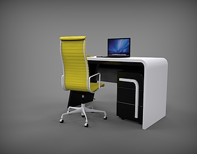 cabinet table 3D model