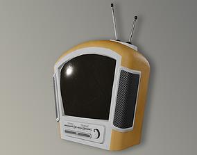 Stylized Retro TV 3D asset