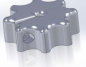 3D print model Knob for Round Shafts