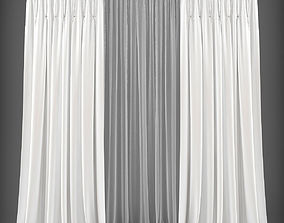 realtime Curtain 3D model 237