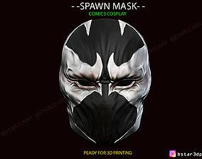 3D printable model Spawn Comics Mask