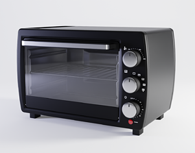 3D asset game-ready Electric Oven