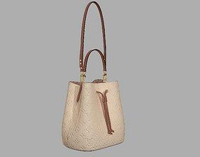 Louis Vuitton Neonoe MM Bag Monogram Empreinte 3D asset 1