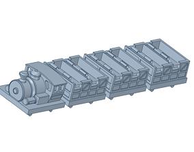 roller coaster vehicle 3D printable model