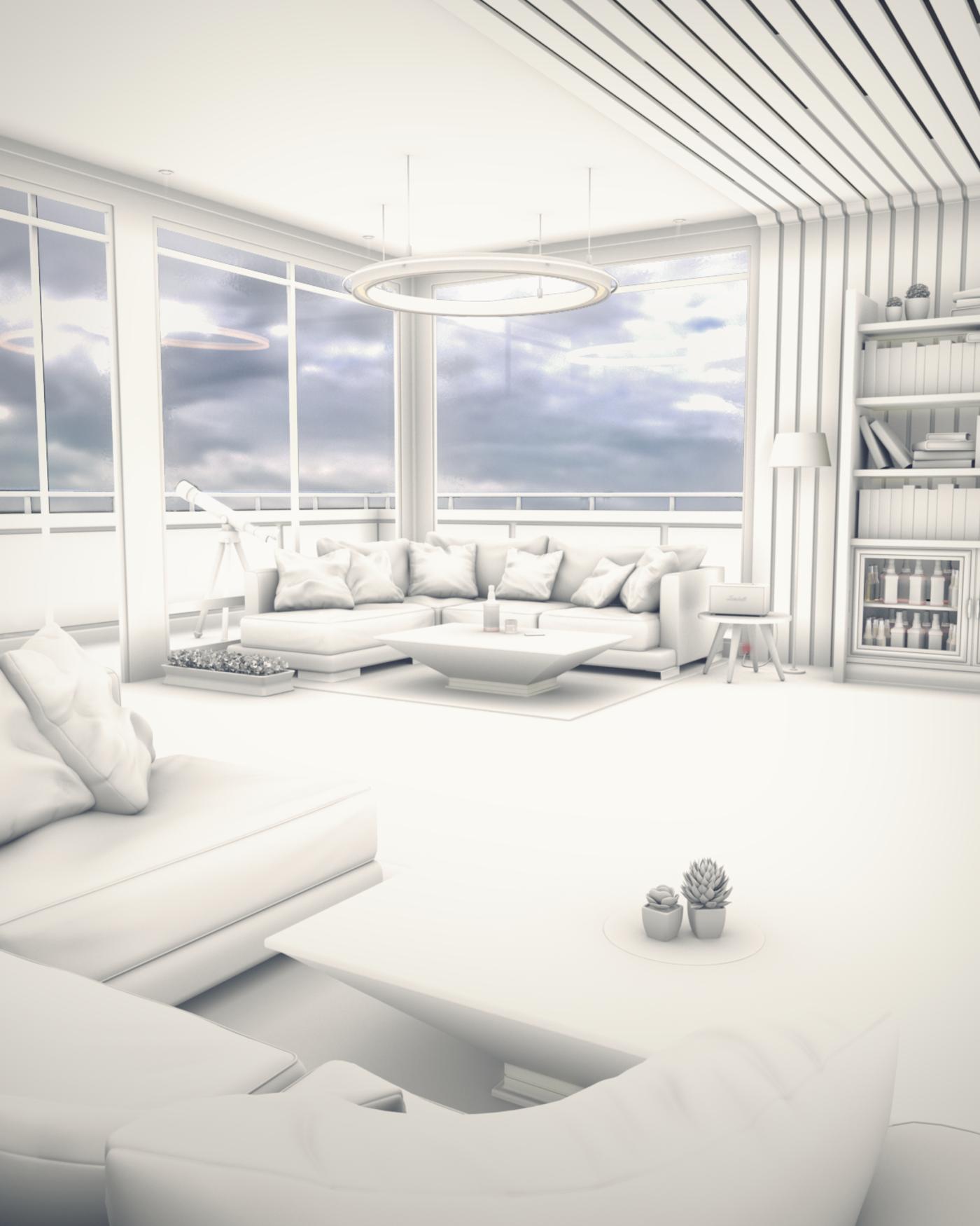Lonesome Bedroom [AO] - Quarantine Art - 01