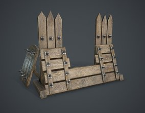 3D asset realtime Barricade old