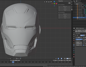 Mark 46 Iron Man Helmet 3D printable model