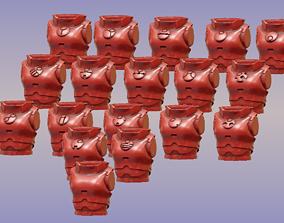 Female Tau Firewarrior Torso 3D print model
