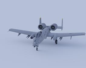 3D A-10A Thunderbolt 2