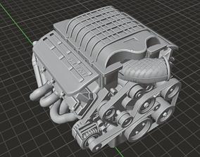 Hellcat Engine 3D model