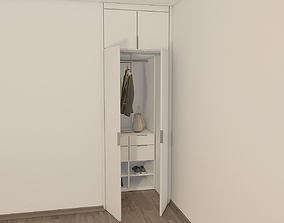 3D model Wardrobe Wood