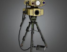 3D asset Military Range Finder Viewer - MLT - PBR Game