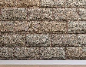 3D asset Stone cladding Stone 011