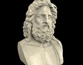 vatican 3D printable model Zeus of Otricoli statue