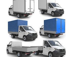 Gazelle Next lorry lowpoly 3D asset