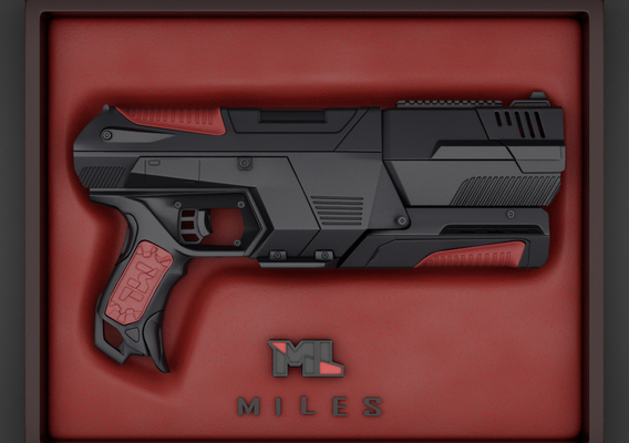 The Sci Fi Transformable Handgun