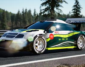 3D asset Escudo Grand Vitara Pikes Peak Gran Turismo