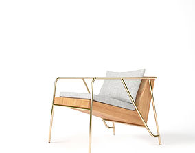 3D Lounge Armchair by FIL