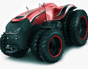 3D Case IH Autonomous Concept Tractor