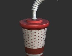 3D model Plastic Drinking Cup