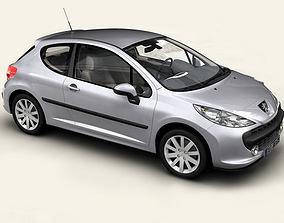 Peugeot 207 3 door 3D model