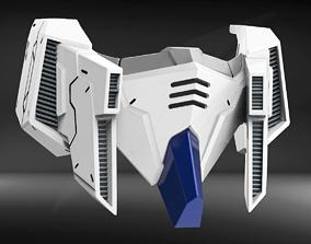 RX93II Custom Mask Fan Art 3D print model
