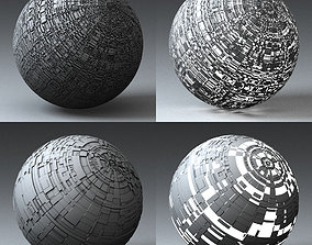 Syfy Displacement Shader G 001 p 3D model