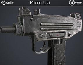 3D asset Micro Uzi