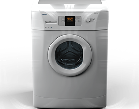 Beko washing machine 3D model