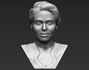 Adele bust 3D printing ready stl obj formats