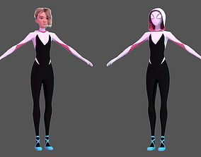 Gwen Stacy - Into the Spider-Verse 3D model