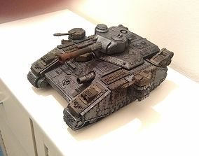 3D print model Supreme Tactical Heavy Tank