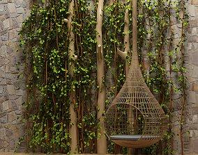 3D Adult hanging basket hanging chair indoor leisure