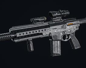 FN M29C 3D model