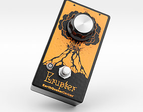 Earthquaker Devices Erupter Fuzz Pedal 3D