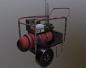 Generator Game Ready Low Poly 3D Model game-ready