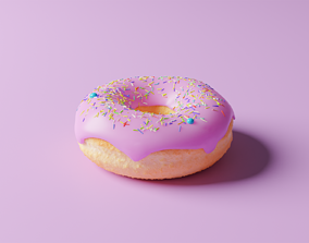 REALISTIC DONUT 3D