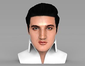 Elvis Presley bust ready for full color 3D
