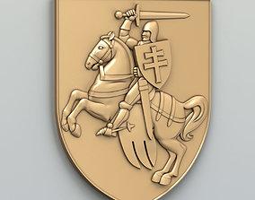 Coat of arms of Belarus Pogonya - type A 3D