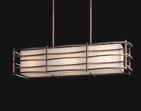 Moxie linear chandelier 3D